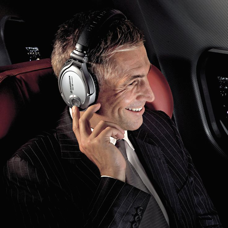 Enjoy Peaceful Solitude From Sennheiser — So You Can Read, Listen to Music, Daydream, or Doze — Even In the Midst of a Crowd!