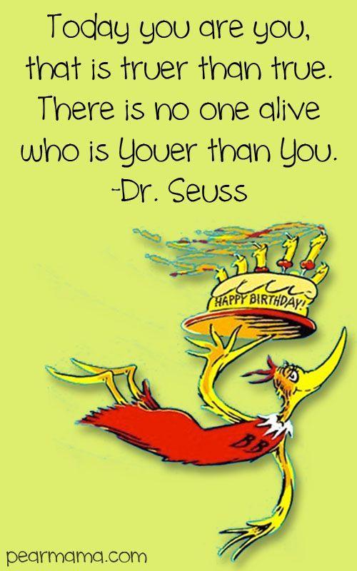 Dr. Seuss Birthday Quote: