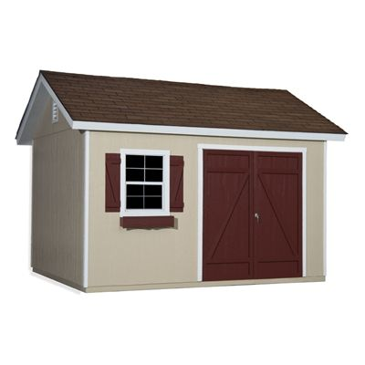 Heartland Mansfield 12-ft x 10-ft Gable Engineered Wood Storage Shed
