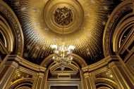 Discover the mythical sites and secret spaces of the Palais Garnier: the Bassin de la Pythie, the Grand Stairway and the Foyer de la Danse.