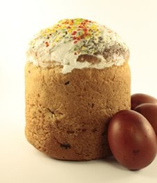 Kulich: Russian Easter Bread