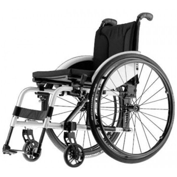 Αμαξίδια : AVANTI PRO Το Avanti Pro συνδυάζει όλα τα χαρακτηριστικά με τα πλεονεκτήματα ενός ενιαίου σκελετού με ενσωματωμένα υποπόδια. Έτσι δημιουργείται ένα πτυσσόμενο αναπηρικό αμαξίδιο με υψηλή συμβατότητα και προσαρμογή.