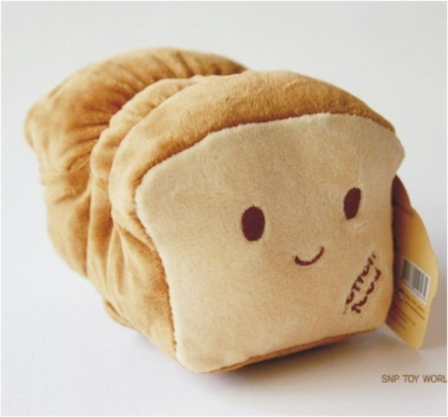 Kawaii bread loaf