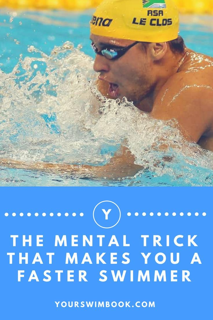 The Mental Trick That Makes You a Faster Swimmer Swim