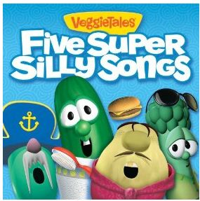 Download five FREE Super Silly Songs from VeggieTales