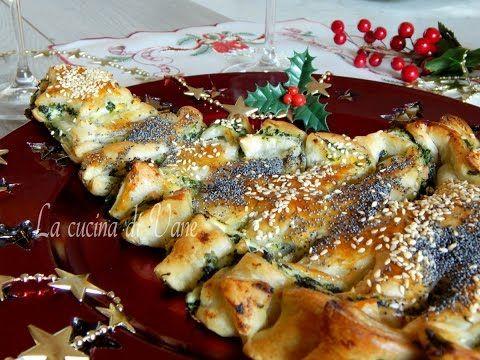 Albero di Natale di pasta sfoglia ricetta facile e veloce