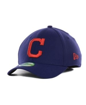 New Era Cleveland Indians Team Classic 39THIRTY Kids' Cap or Toddlers' Cap - Blue Toddler