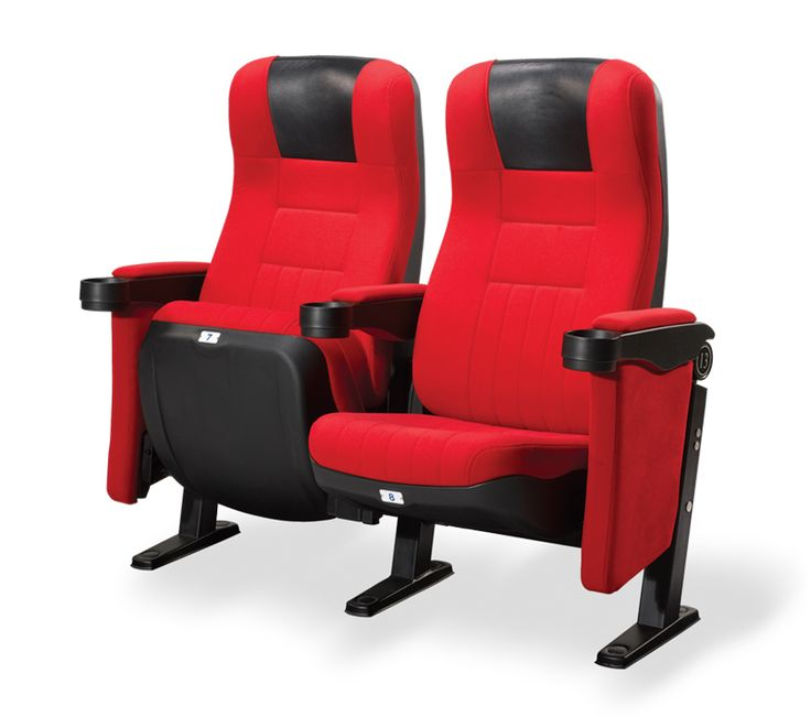 HAYDN: A stylish and practical cinema seating option. The Haydn cinema chair comes in a range of fabrics, with or without leatherette headrest and has a writing tablet arm available as an optional extra.