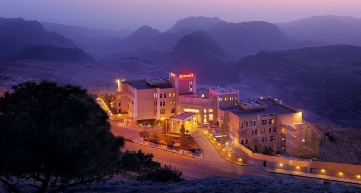 One of the best hotels in Petra, the Petra Marriott Hotel offering 5 star service, quality and experience