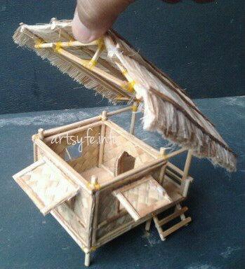 Nipa Hut Bahay Kubo Hubby S Creations Paper Houses
