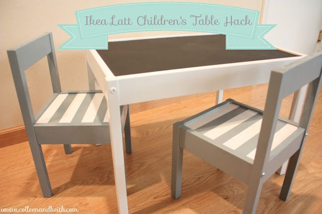 Meet the Sullivans : IKEA Latt Children's Table Hack