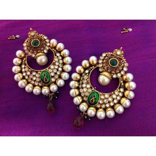 Kanchana traditional earrings