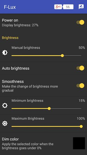 Screen Brightness Control v2.0.6 (Paid) 	Requirements: 4.0.3 and up  	Overview: Lux control the screen brightness for your Android smartphone. Avoid the nuisance of adjust your screen brightness opening the Android screen brightness control.   	  	 	NOTE: on the first install the app need some...