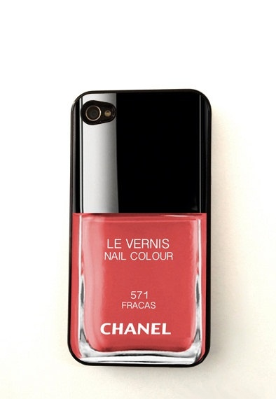 Chanel iPhone 4 / 4S Case iPhone 5 Case by StyleCase on Etsy, $9.99