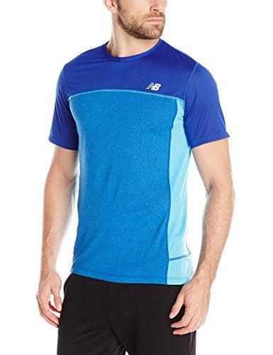 NEW BALANCE New Balance Men'S Short-Sleeve Tech Run Top. #newbalance #cloth #