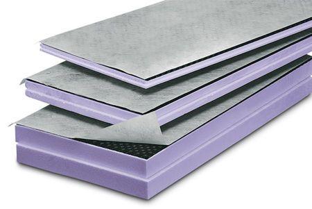 Matériaux isolants, Panneaux de construction, Polystyrène extrudé, XPS, Receveurs de douche - JACKODUR KF 300 Jackodrain