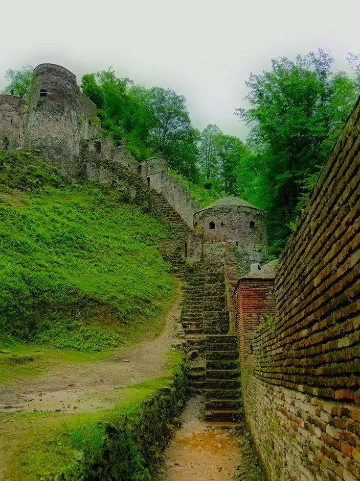 Rud-Khan Castle in Foman city, Gilan, Iran.