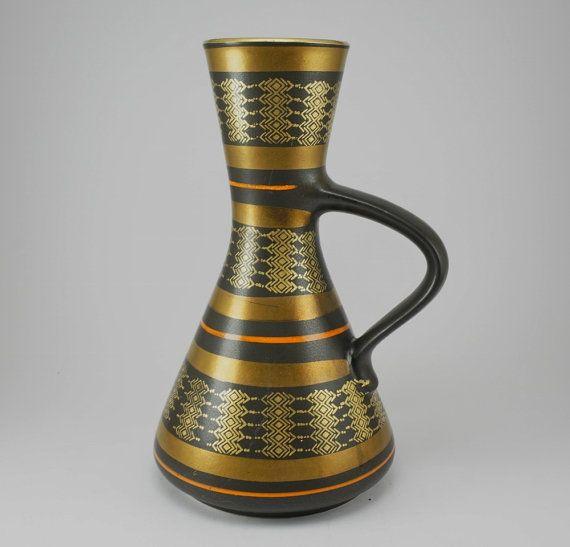 West German Dümler & Breiden Vase from1970s by ScandicDiscovery