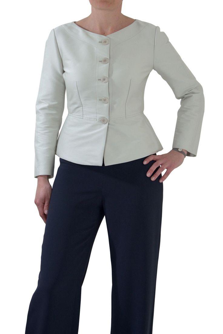 Armani Collezioni #womanjacket in #technical #fabric - buy at www.lanamoda.it WITH 40% OF DISCOUNT!!!