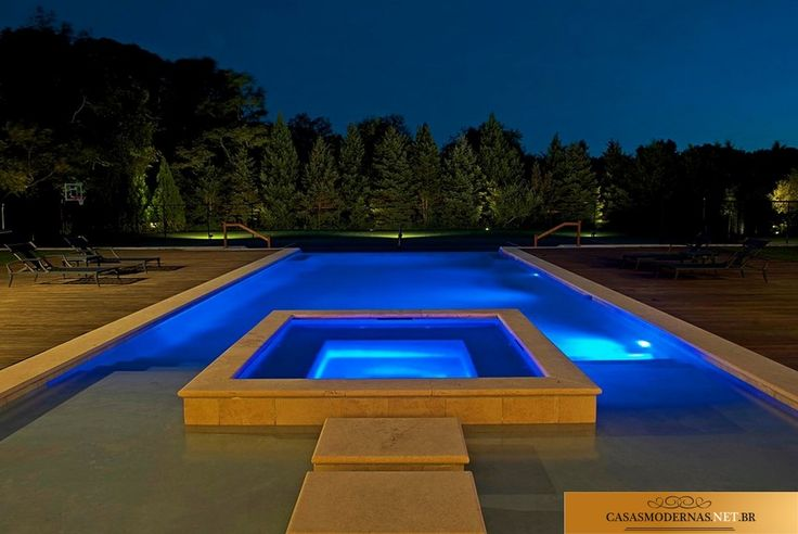 Casas modernas piscinas pools architecture pinterest for Albercas modernas