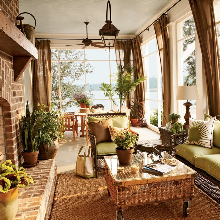 Sunroom Window Ideas: 21 Best Window Treatments For Sunrooms Images On Pinterest
