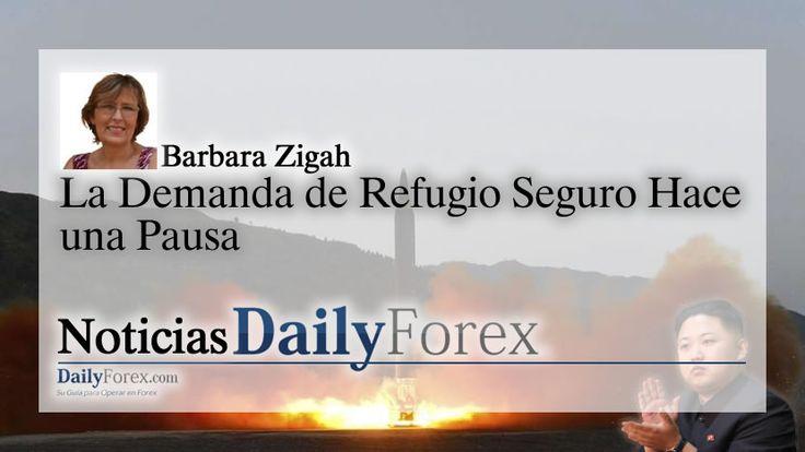 La Demanda de Refugio Seguro Hace una Pausa   EspacioBit -  https://espaciobit.com.ve/main/2017/08/29/la-demanda-de-refugio-seguro-hace-una-pausa/ #Forex #DailyForex #CoreaDelNorte #MercadoForex #FX