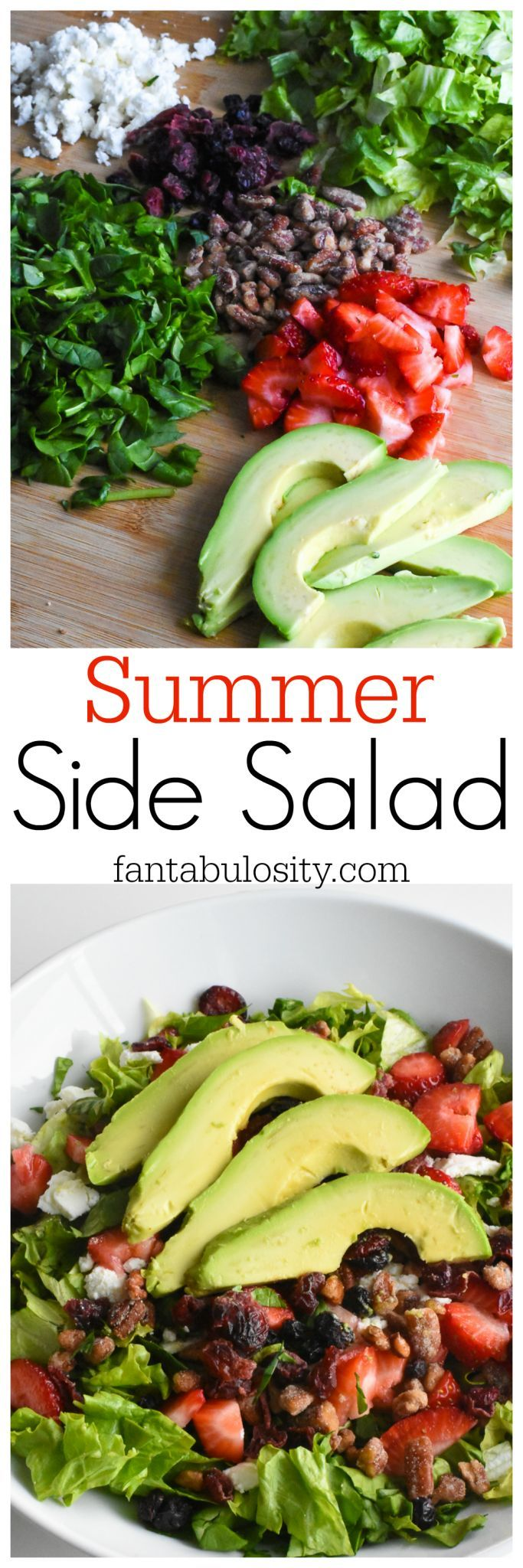 Summer Side Salad Recipe. I'll be taking this to EVERY outing, this year. http://fantabulosity.com