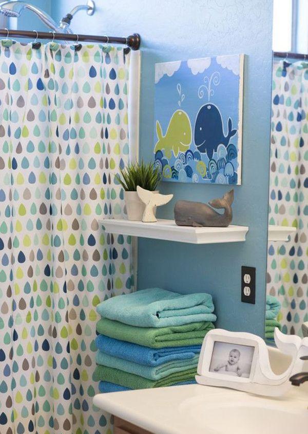 Kids Bathroom Makeover, Boy Bathroom Sets