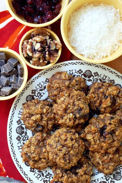 Pumpkin Oatmeal Harvest Cookies via Providence Handmade