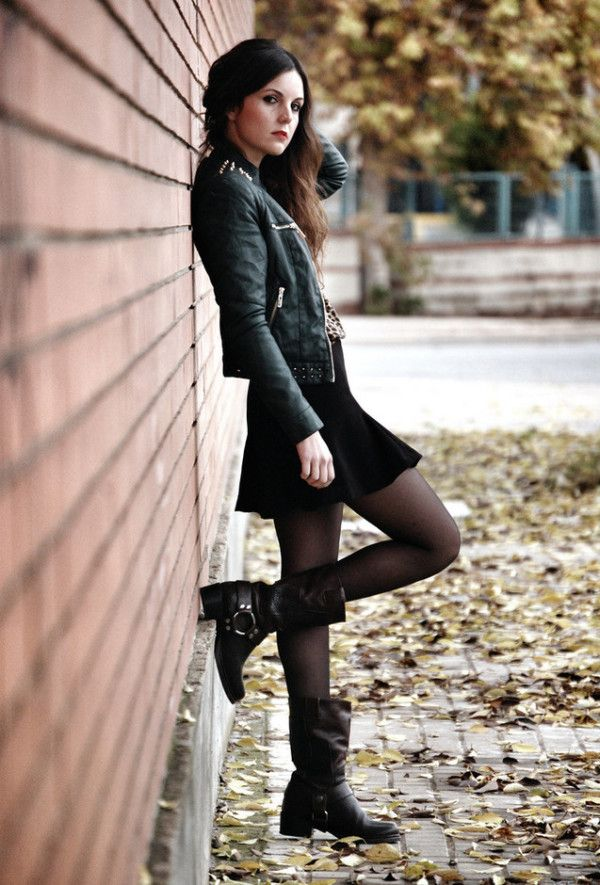 Rock style clothing for women