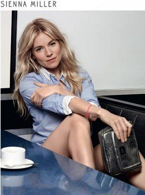Sienna Miller Caroll Second season Leather and Denim Autumn-Winter 2013-2014 Collection