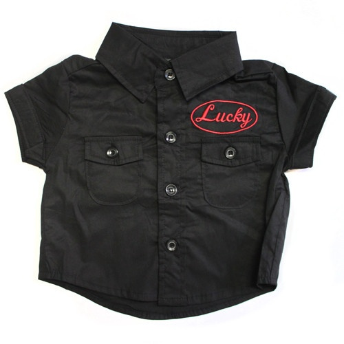 Rockabilly baby shop shirt...yes please?!