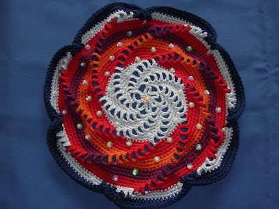 Fien's haakhoekje: Mandala haken: Mandala Haken, Colours Changes, Point Spiral, Mandala S, Mandalas, Crochet Patterns