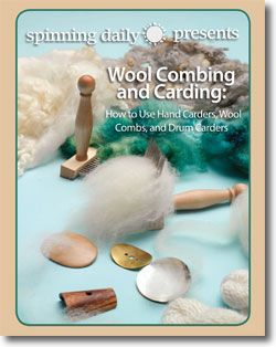 Check out this fantastic, free tutorial on Wool Carding and Combing by Spinning Daily! It covers everything from hand and drum carding, to selecting the right comb and maintaining it for future use. #CraftTutorials