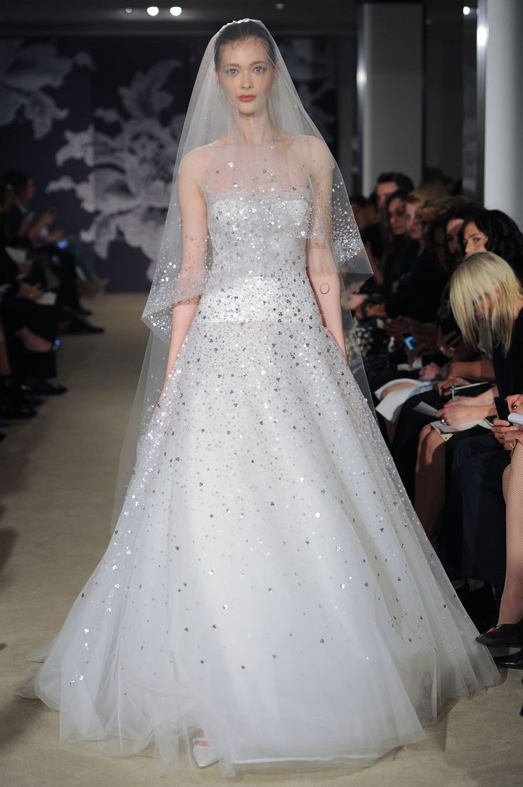 The Celeste Gown #CarolinaHerrera #Bridalspring2015
