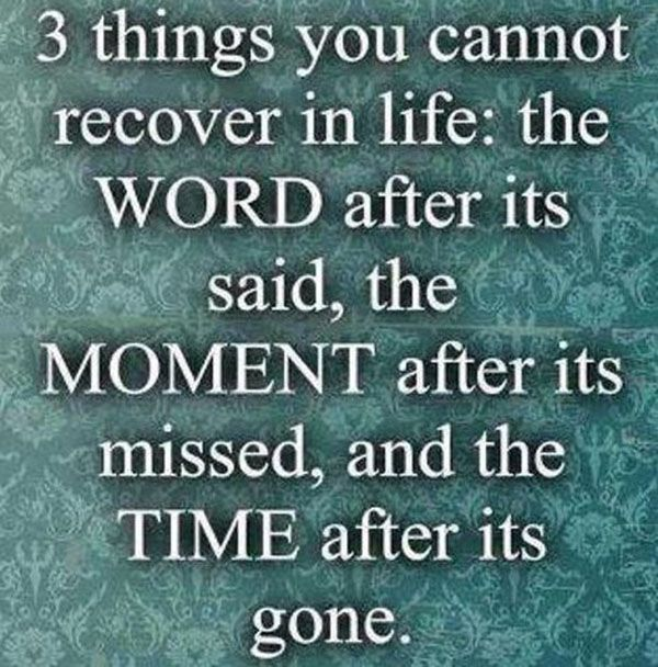 3 Things You Cannot... #Quotes #Daily #Famous #Inspiration