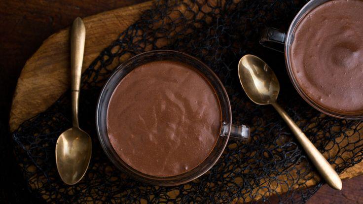 NYT Cooking: Dark Chocolate Pudding