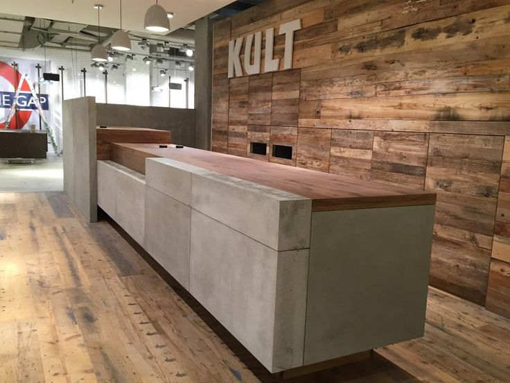 Cement Sale Counter In Fashion Store Reception Desks Pinterest Fashion Stores In Fashion
