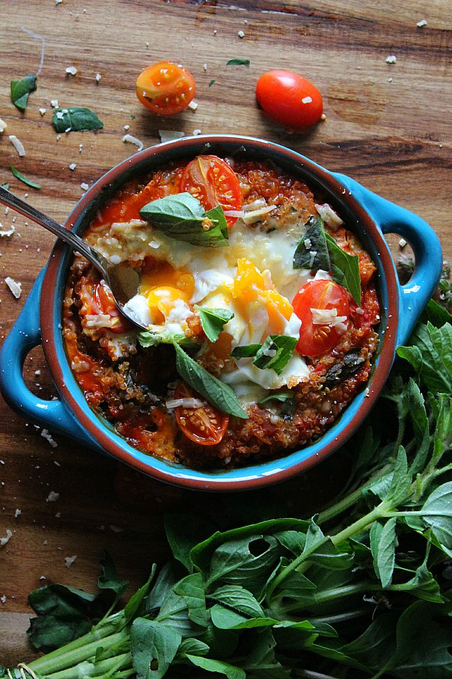 Good food : Perfect baked eggs. - Inked in Colour