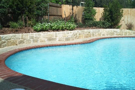 images about Pools with retaining walls on Pinterest