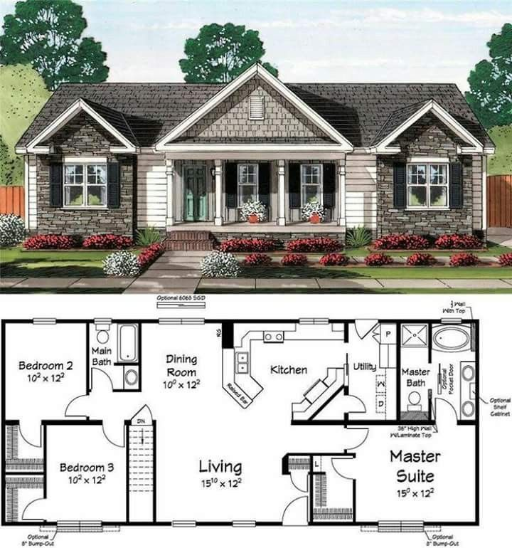 Pin by Trendy Kollections on Projects in 2019 | House plans, Small