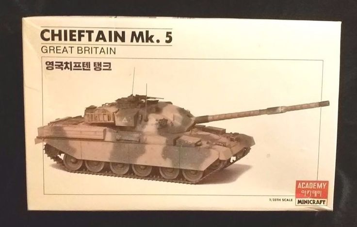 ACADEMY Minicraft 1/35 scale CHIEFTAIN MK 5 MODEL KIT #1313 NEW IN BOX! 1986' #ACADEMYModels