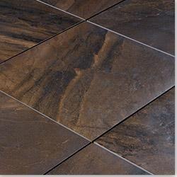 """Ceramic & Porcelain Tile - Style: Exotic Copper / Size: 11 13/16"""" x 11 13/16"""" x 3/8"""""""