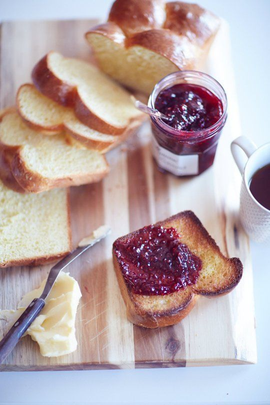 Brioche.   Because butter and jam need a good foundation.