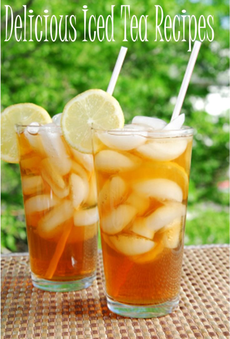 Cool down this summer with iced tea