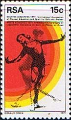 South Africa 1977 Sports for Girls Fine Mint SG 435 Scott 496 Other South African Stamps HERE