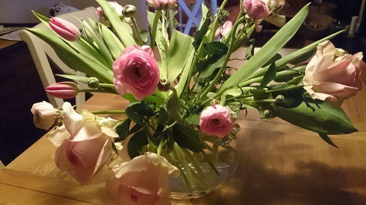 Make up your own  flower arrangement.