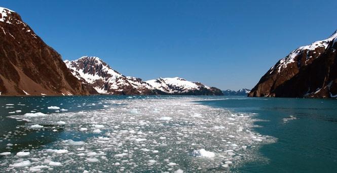 Alaska via Carnival cruise lines