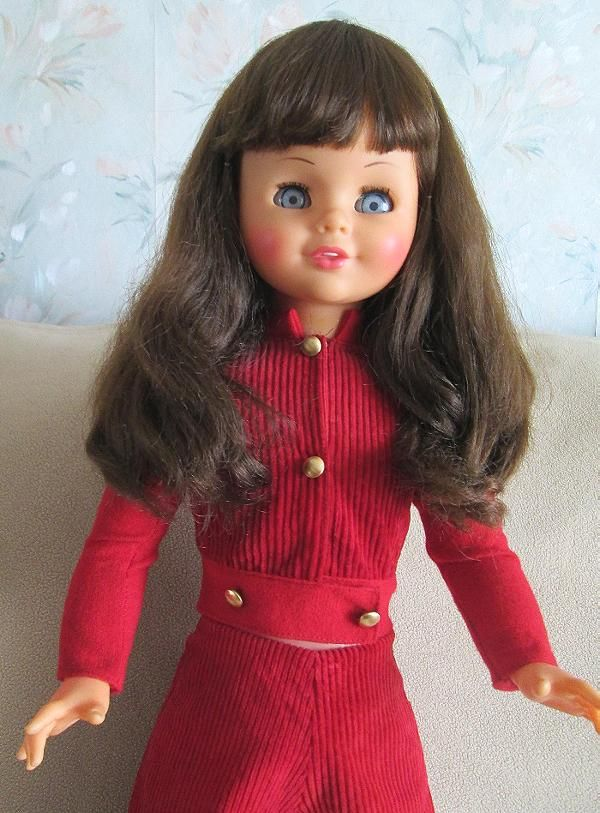 Miss Carolinda Lili Ledy Talking and walking with me doll from the 70's.
