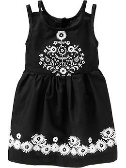 Floral-Detail Sundresses for Baby | Old Navy $18